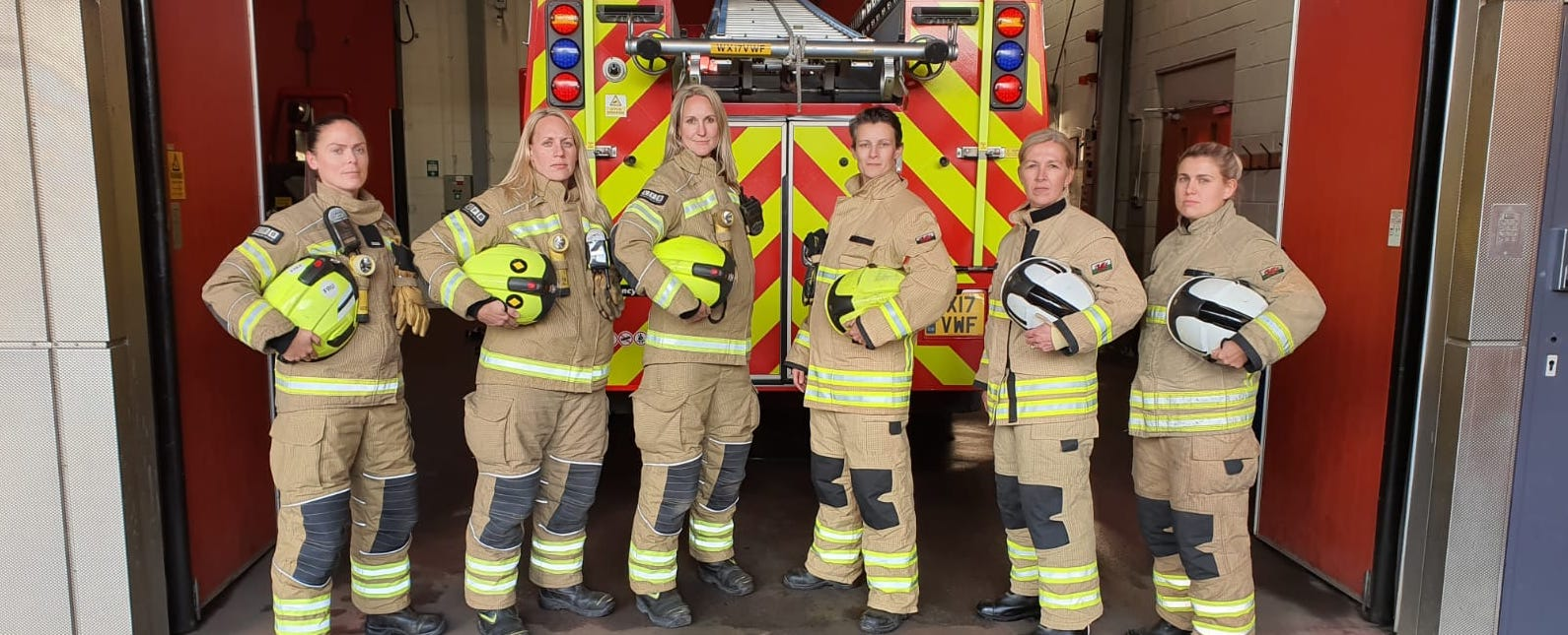 Female Firefighters, Antarctic Fire Angels