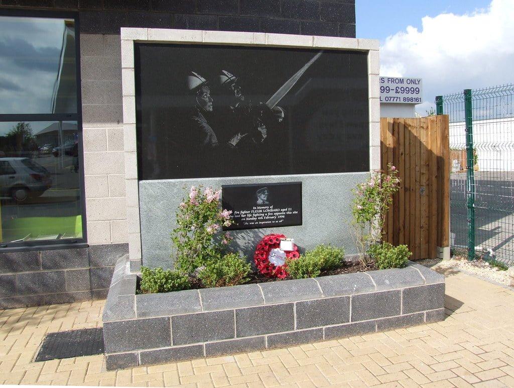Memorial dedicated to Fleur in Staple Hill, Bristol