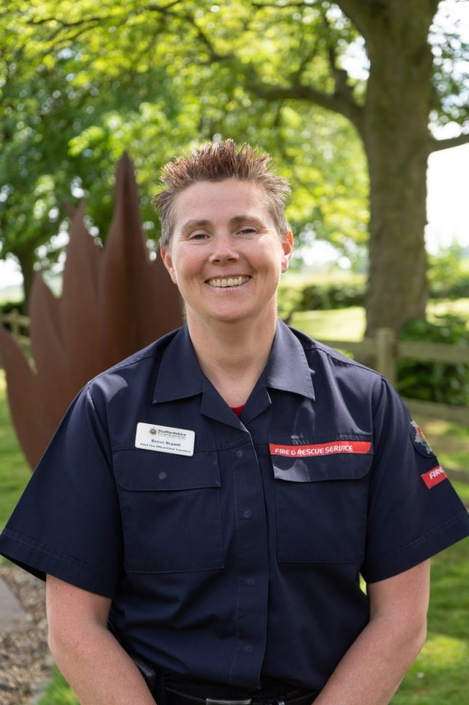 Chief Fire Officer, Rebecca Bryant