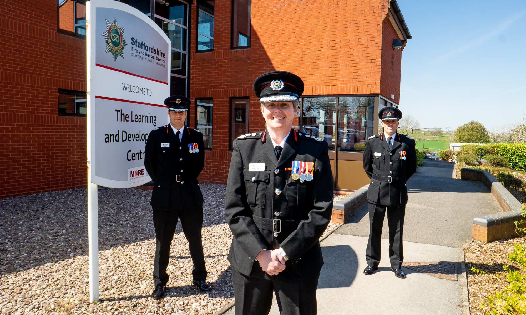 Chief Fire Officer Rebecca Bryant