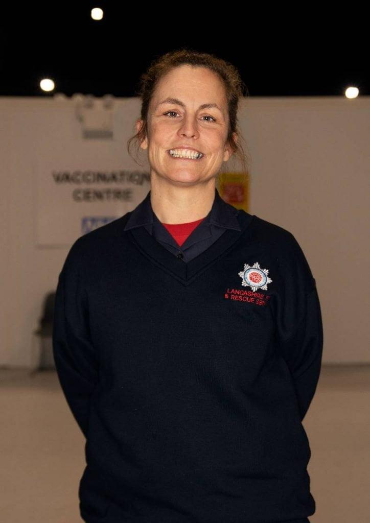 Firefighter Sarah Holden